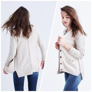 Madewell Seedstitch Cardigan Sweater Med/Large